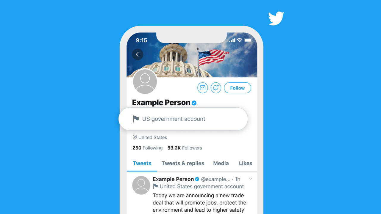Twitter begins labeling state-affiliated media and government officials
