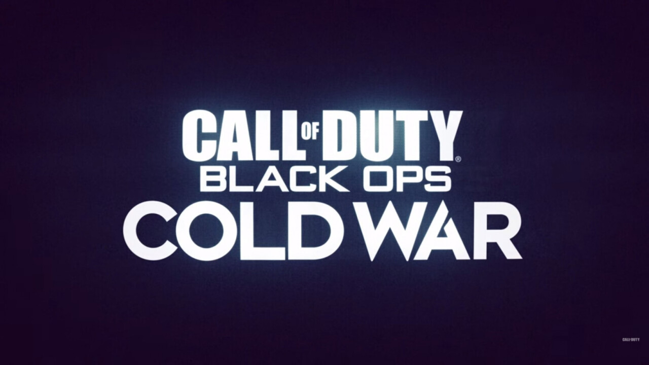 Call of Duty's in-game Black Ops: Cold War reveal gets an 'E' for effort