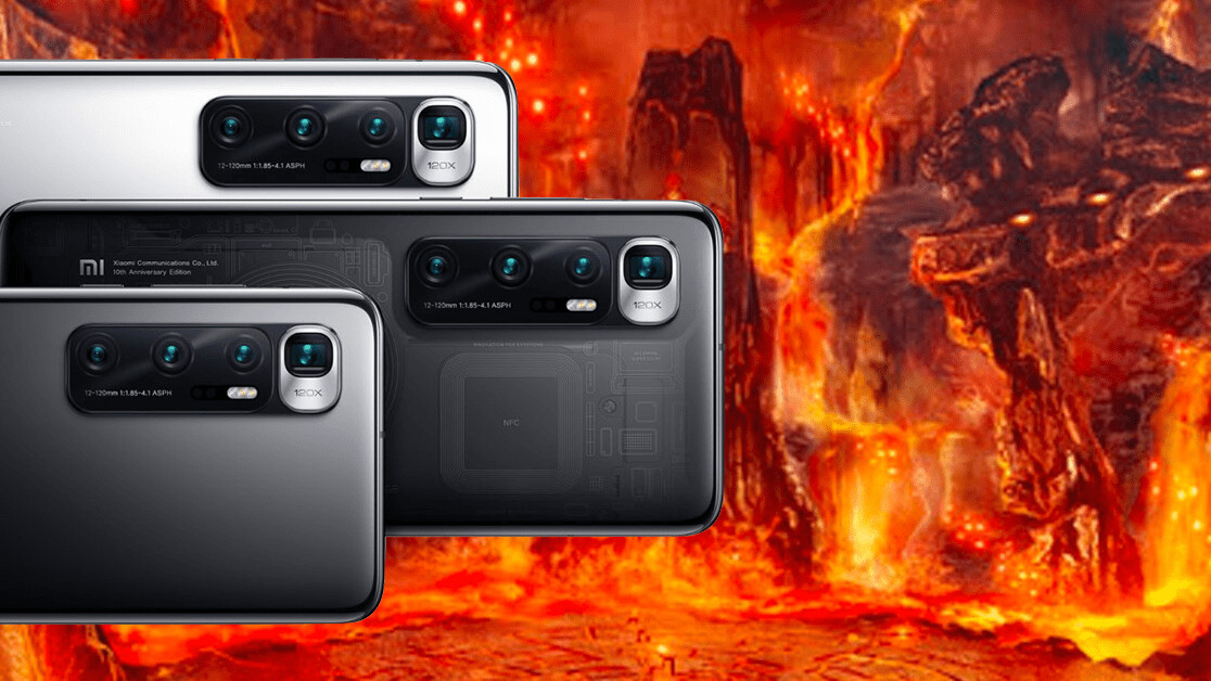 The Xiaomi Mi 10 Ultra's camera array is a glimpse into the abyss