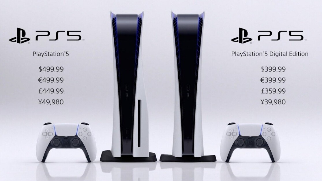 It's official: The PlayStation 5 launches November 12 for $499