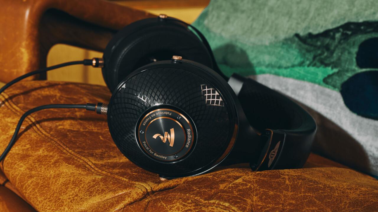 Focal's new Bentley-themed headphones look stunning