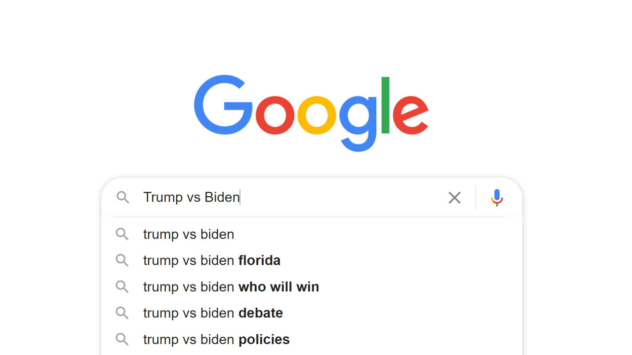 Google limits election-related search suggestions to avoid bias claims