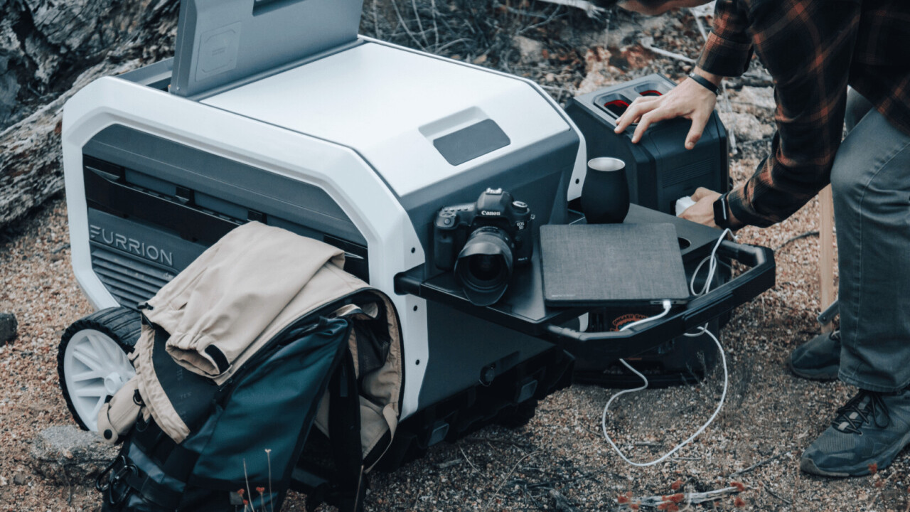The Furrion eRove is an off-grid fridge that cools your food for 5+ days