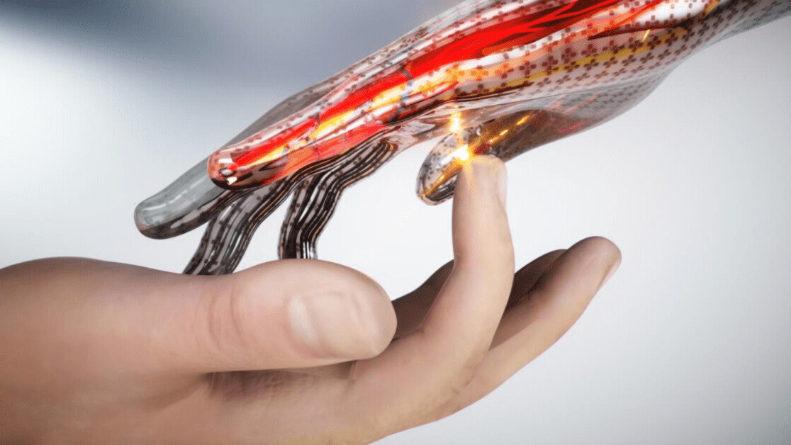 Electronic skin that 'feels' pain could lead to smarter prosthetics and robots