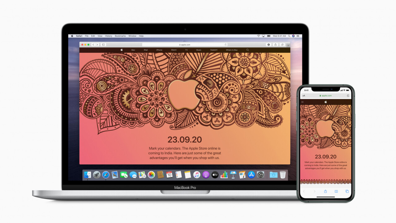 Apple is launching its online store in India on September 23