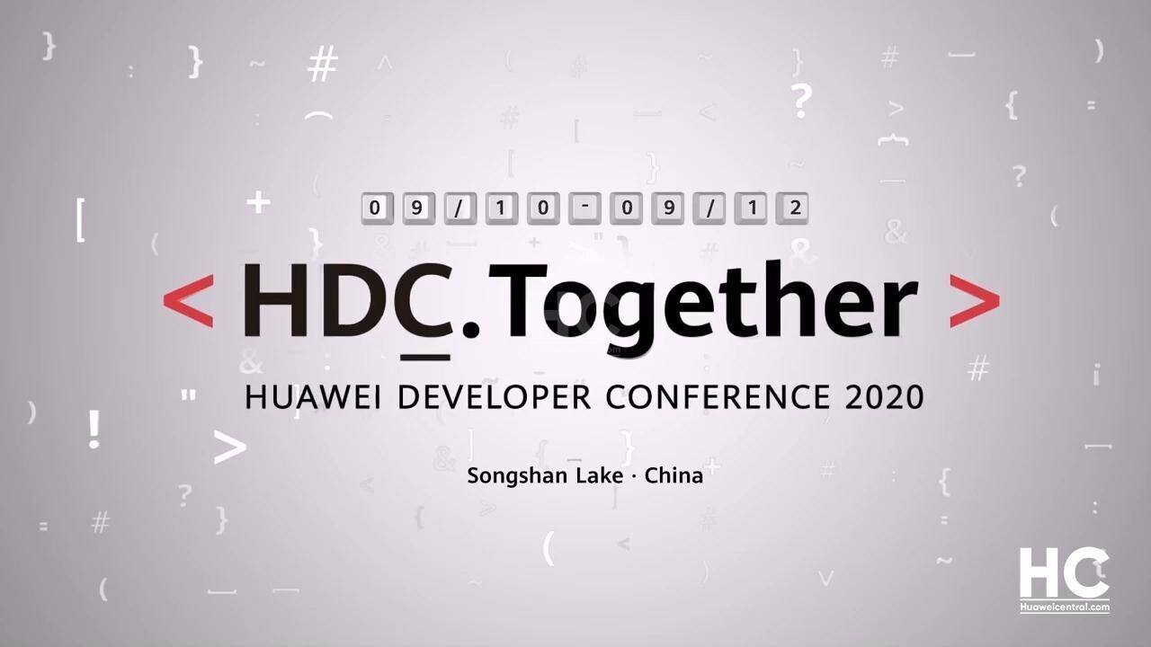 Follow Huawei's 2020 dev conference livestream here