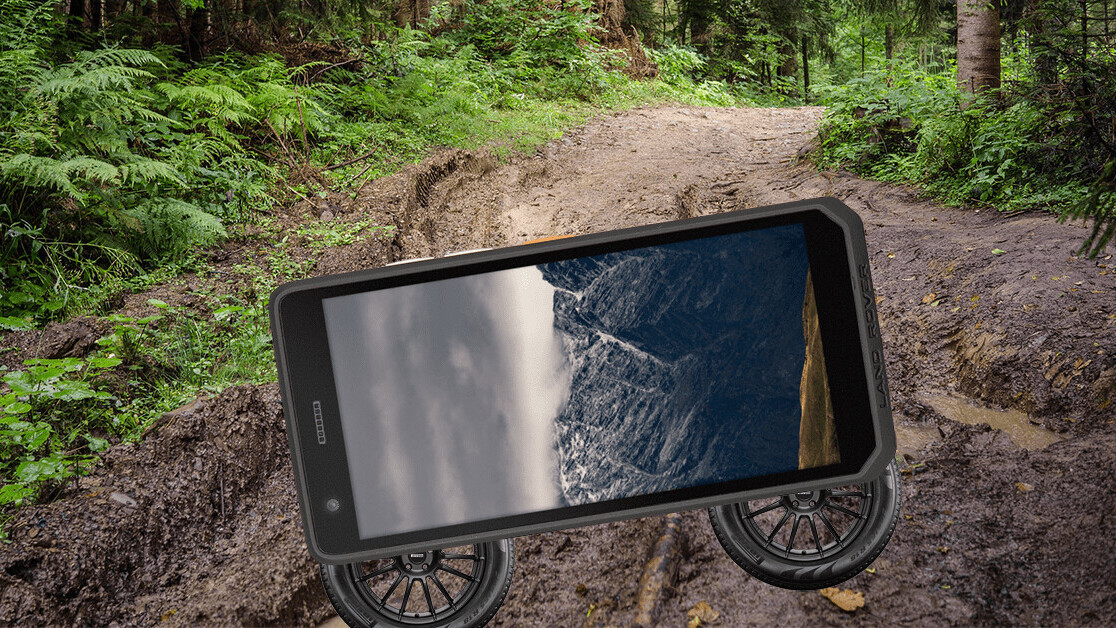 Land Rover launched a phone because… actually I've got no idea why
