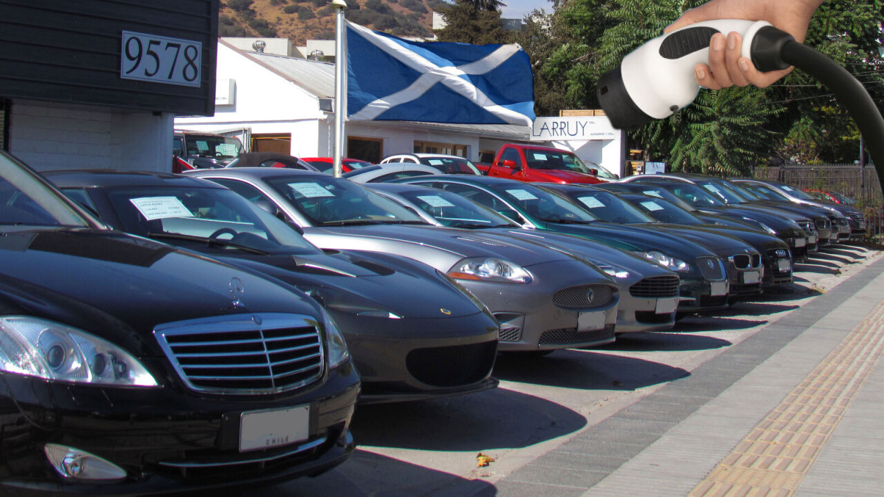 Scotland to offer citizens a $26K interest-free loan to buy a secondhand EV
