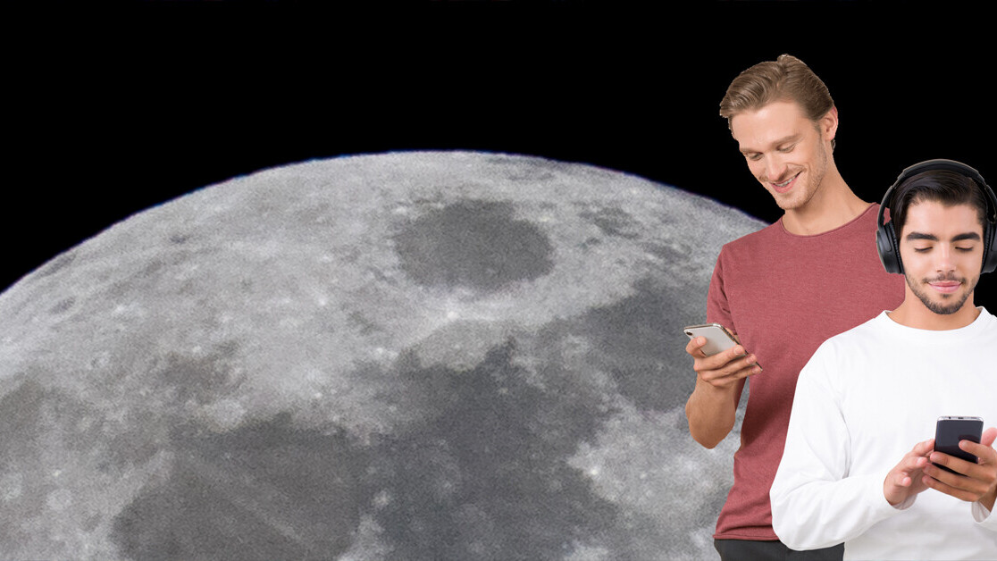 Nokia and NASA's 4G lunar network will mess up radio astronomy