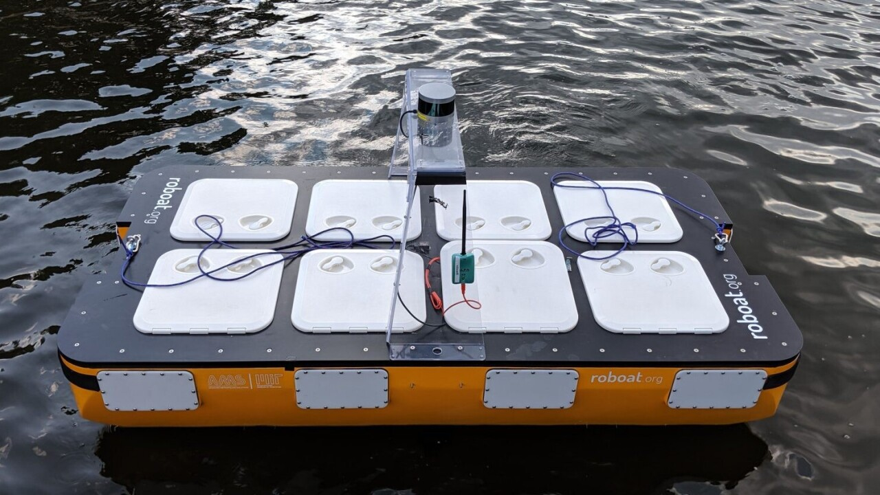 MIT's new autonomous boat ruled Amsterdam's canals for 3 hours