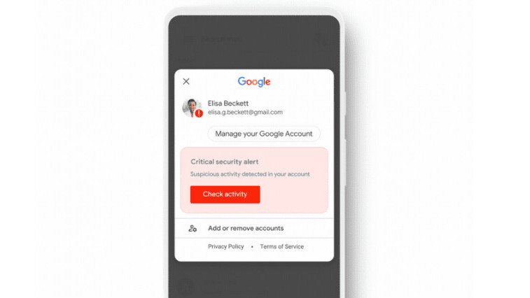 Google beefs up your account security with new in-app alerts