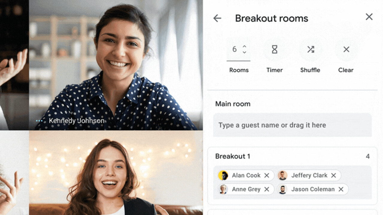 Google Meet will let you create breakout rooms within your video calls