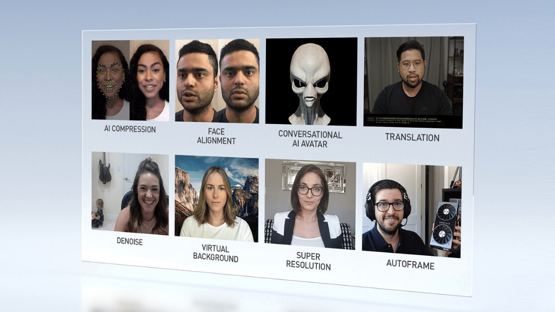 Nvidia uses AI to make video calls way better