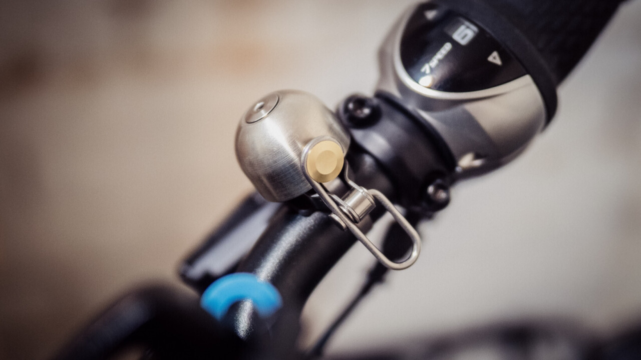The Spurcycle bike bell is so nice, it might just be worth paying $49 for