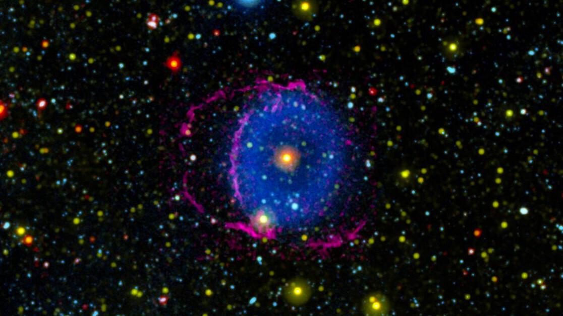 Spooky space: Blue ring nebula reveals the secrets of binary stars