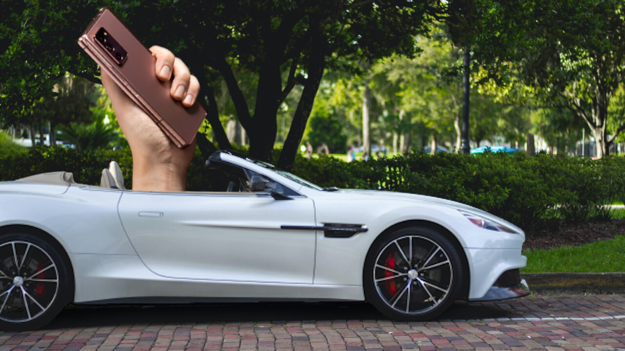 Aston Martin has a foldable phone that you definitely shouldn't buy