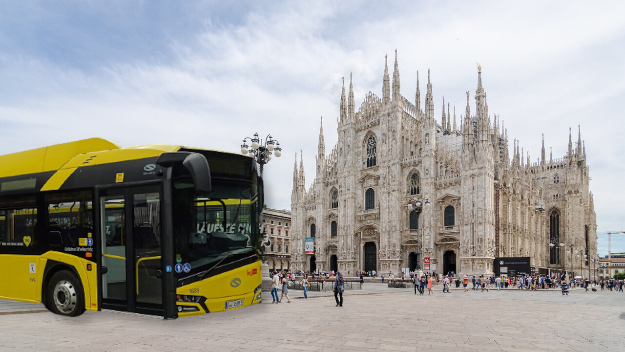 Milan doubles down on electric buses and orders 100 more