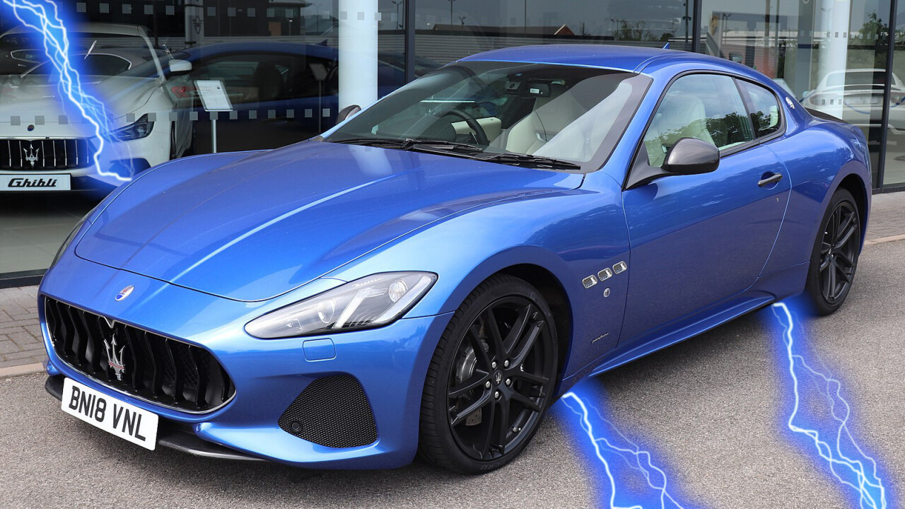 Maserati commits to going electric by 2025, COO says