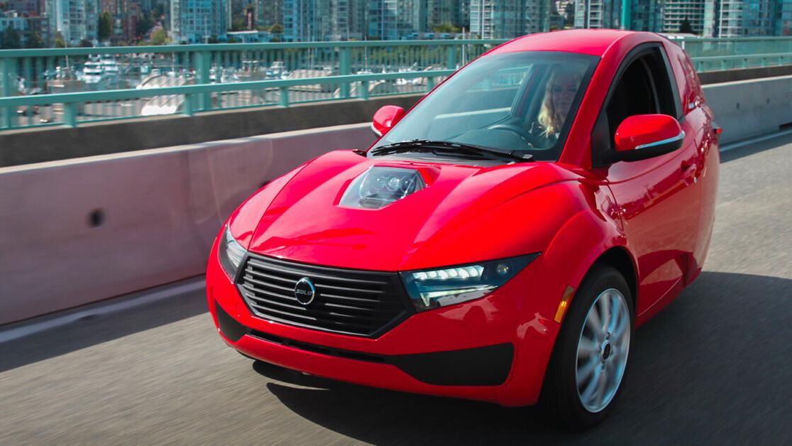 3 wheels, 1 seat: A closer look at Electrameccanica's 2021 Solo EV