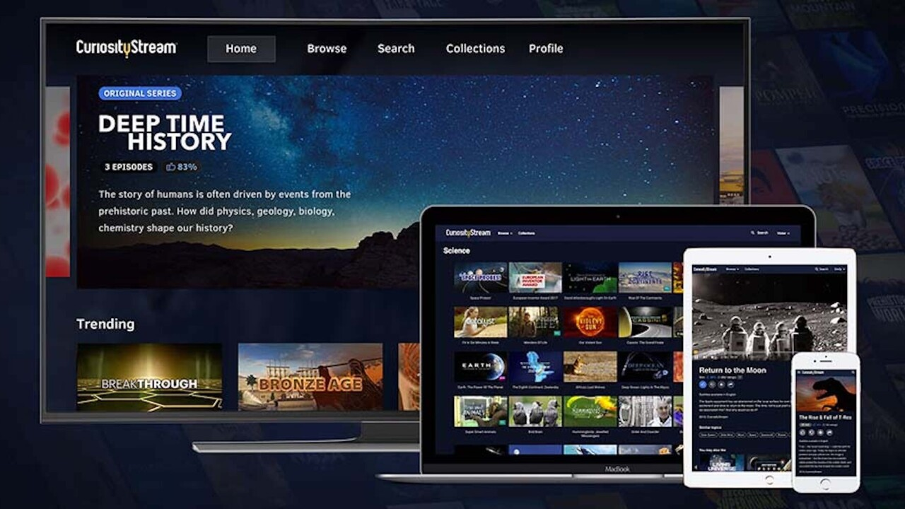 Watched everything on Netflix? CuriosityStream brings you thousands of documentaries