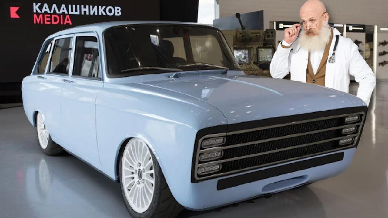 The Kalashnikov CV-1 was meant to kill Tesla and impress Putin — but where is it?