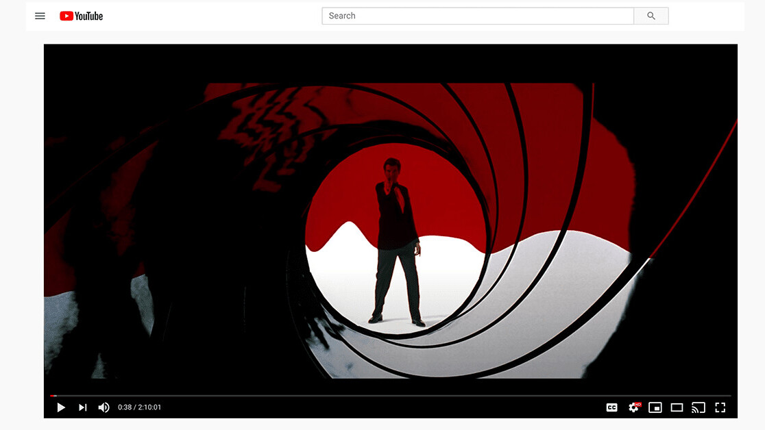 YouTube is now streaming James Bond movies for FREE (in the US)