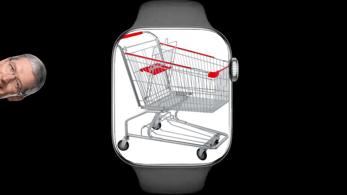 Every supermarket needs an Apple Watch app