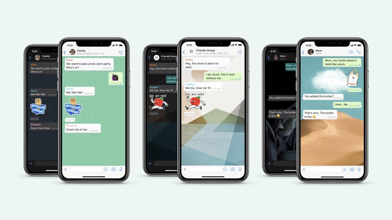 WhatsApp now lets you assign separate wallpapers for your favorite people