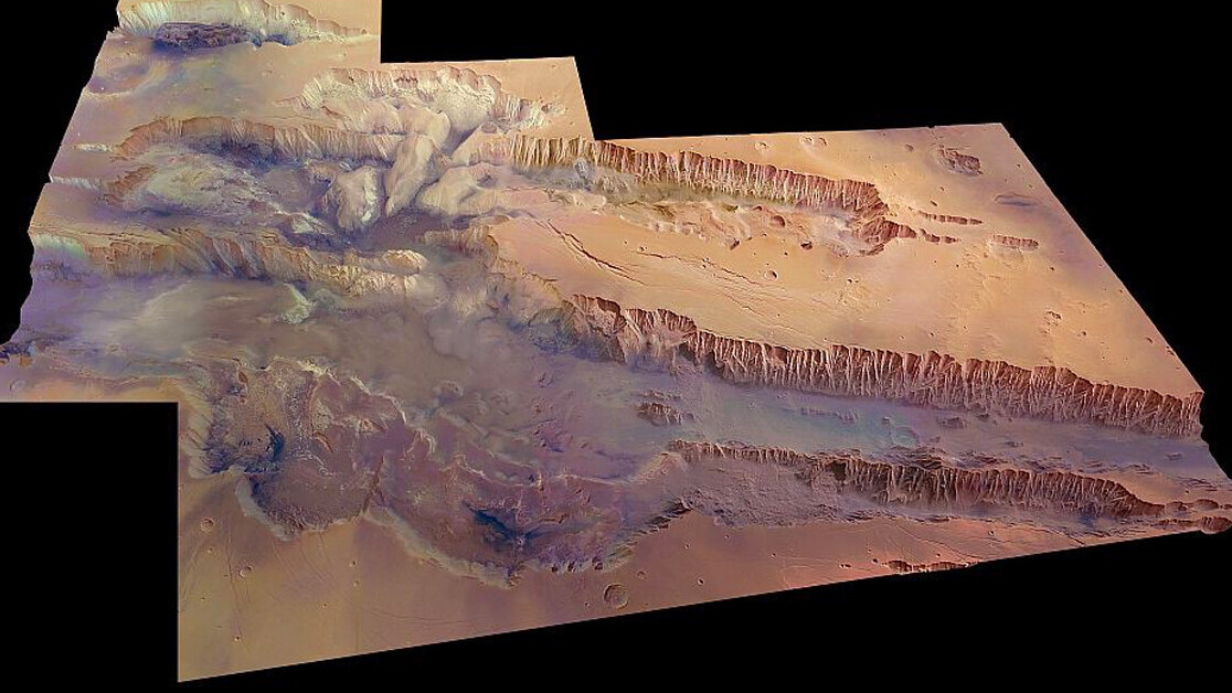 New stunning HD images show the largest canyon in our solar system