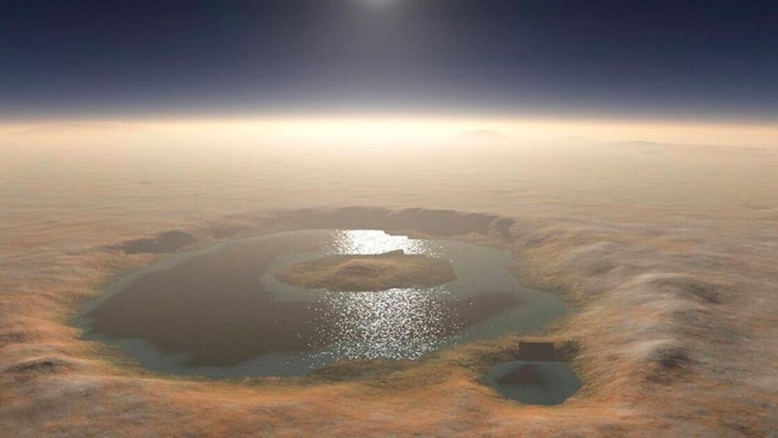 Vá! 3 billion years ago, Mars looked a lot like Iceland