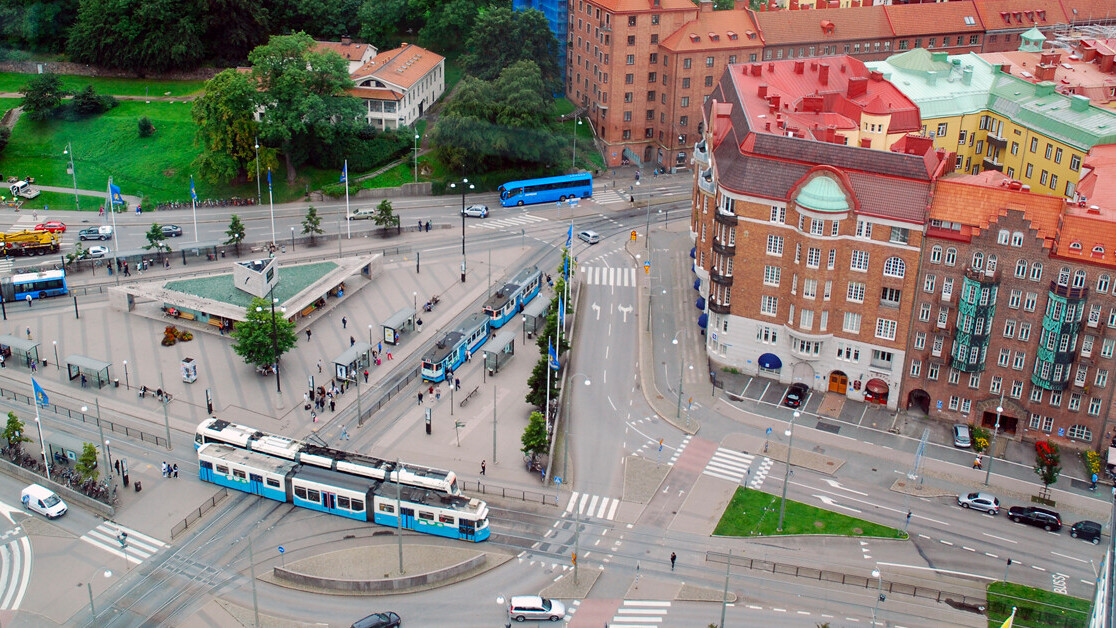 Gothenburg gears up to test future transport tech in the heart of town