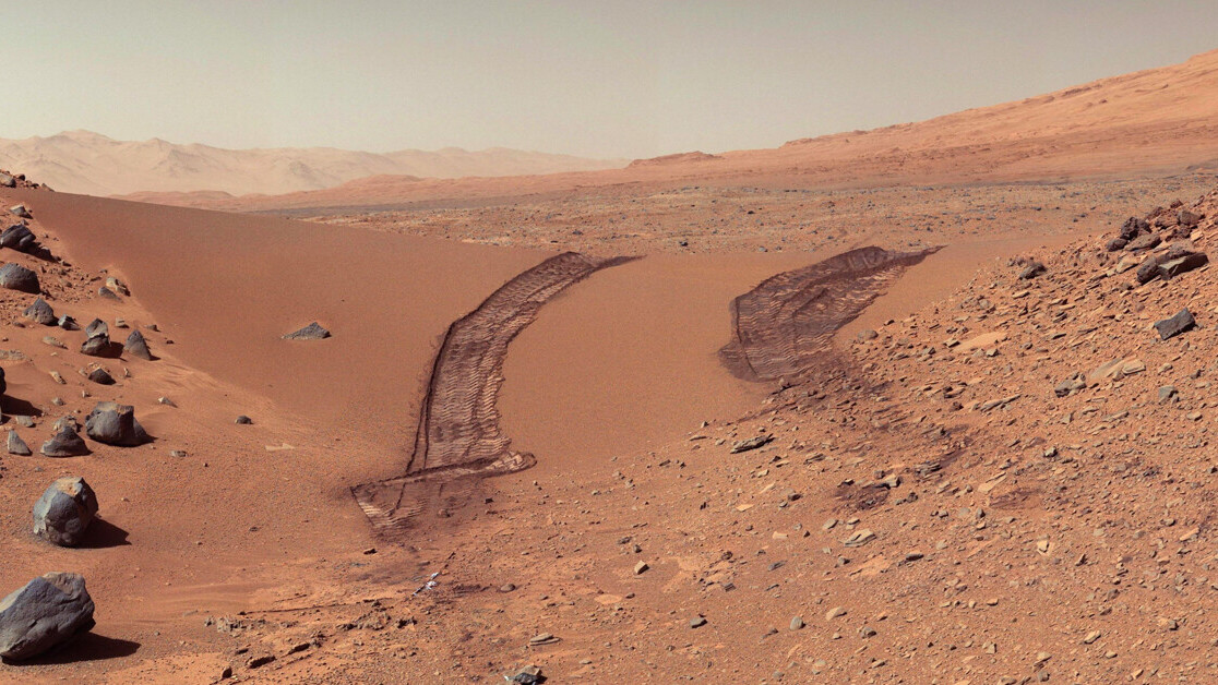 Microbes grown on Mars' ruddy crust hint at signs of life