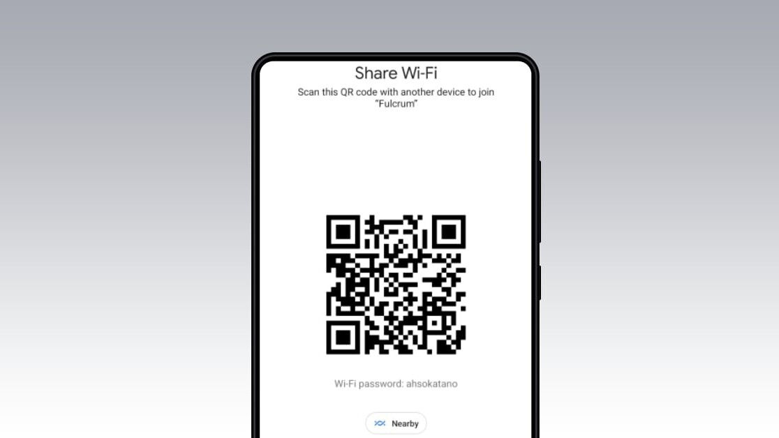 Android 12 makes sharing Wi-Fi passwords a breeze