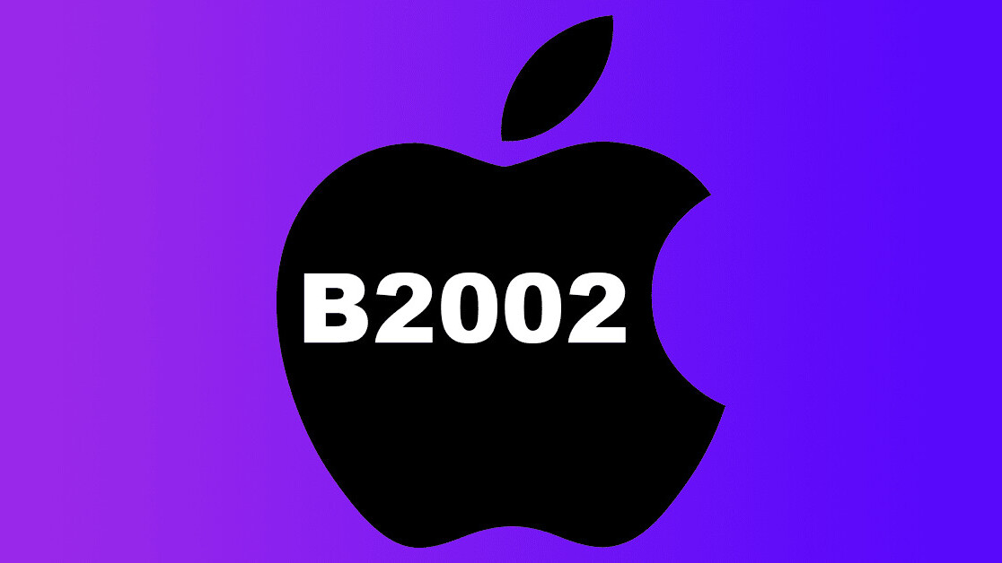 Totally reasonable guesses about Apple's mystery B2002 product