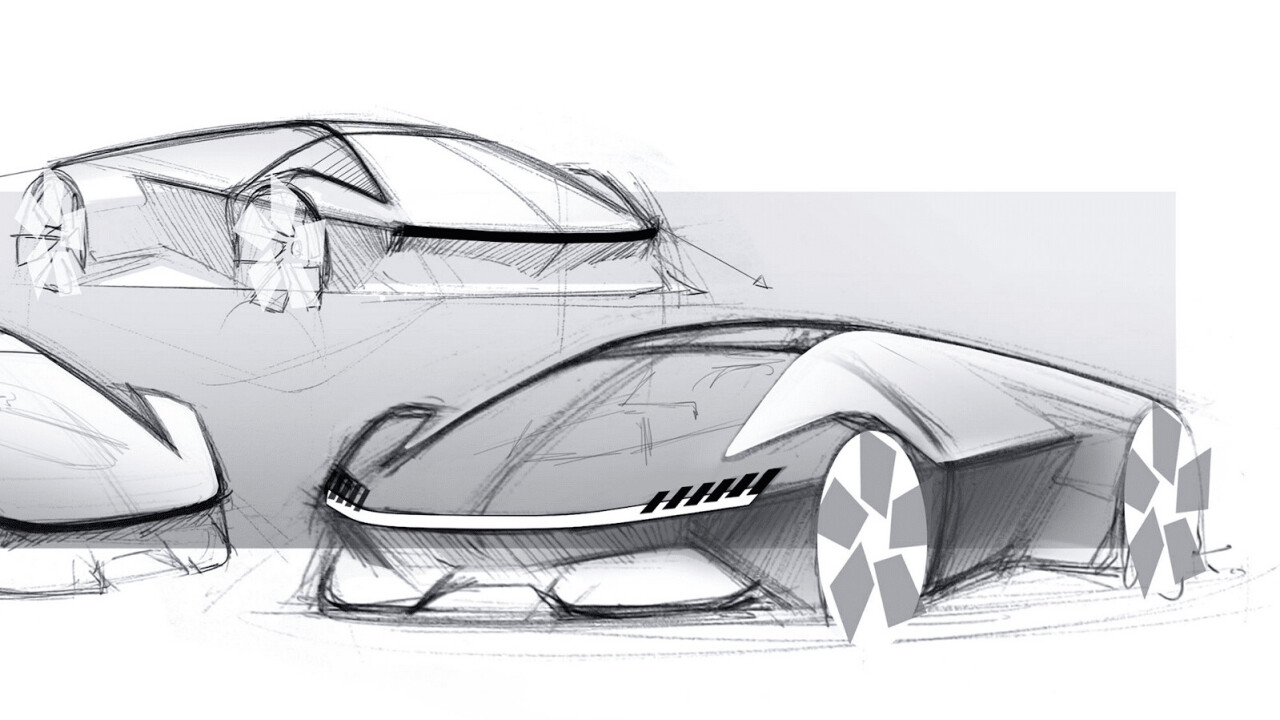 What would an all-electric Lamborghini look like? Pretty rad!