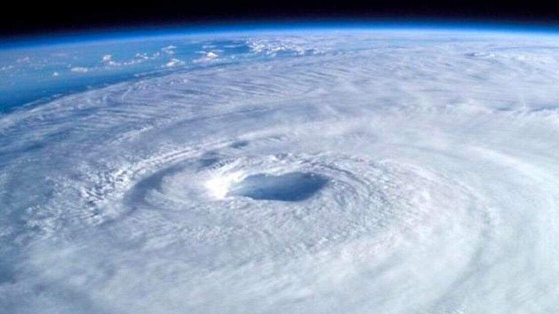 The first-ever 'space hurricane' has been spotted above Earth