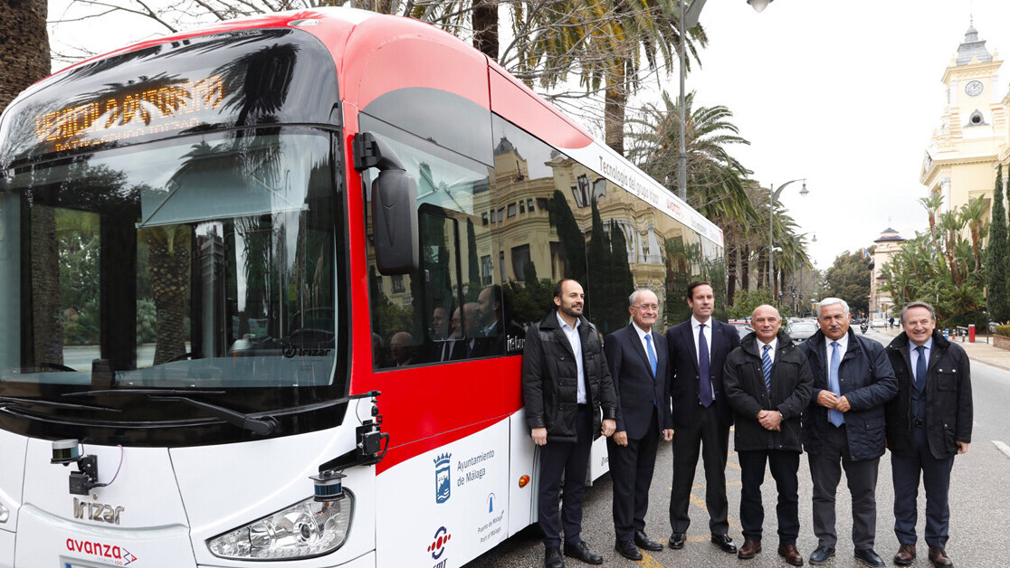 Self-driving electric buses are here, and they're cruising round Málaga