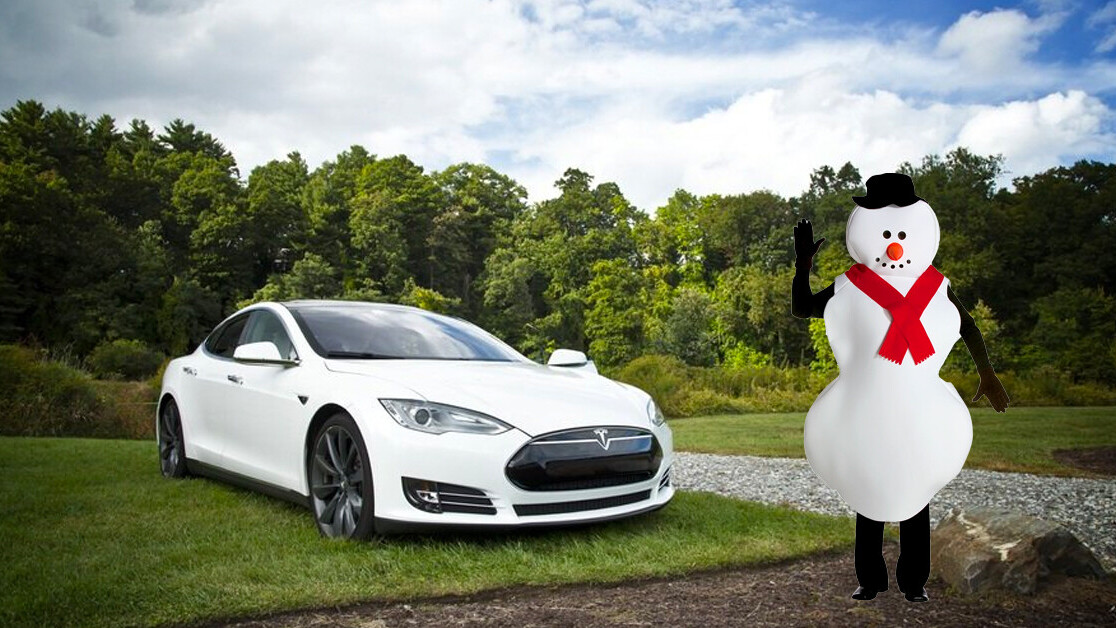 Snowmen can't walk — but your Tesla thinks they can