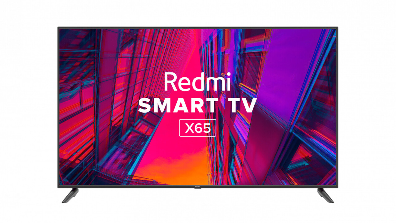 Xiaomi debuts a trio of Redmi 4K TVs in India starting at $450