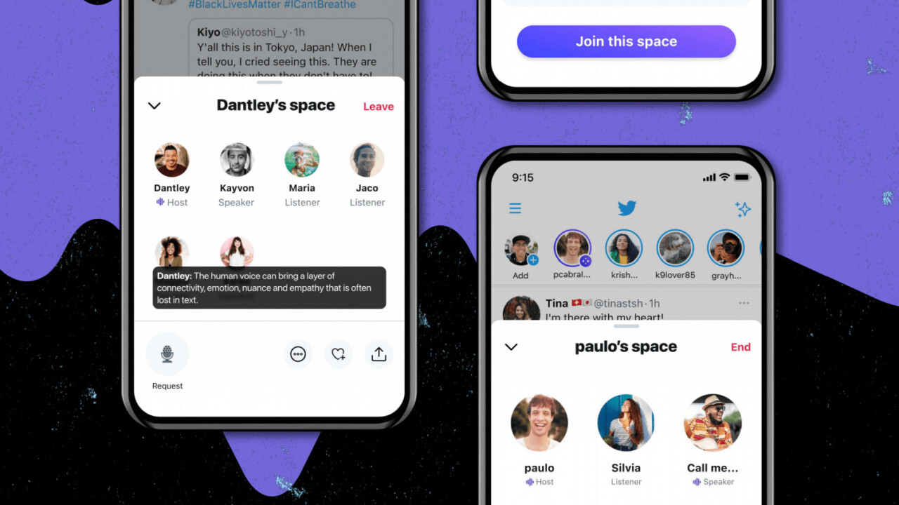 Twitter now lets Android users try its Clubhouse-like Spaces