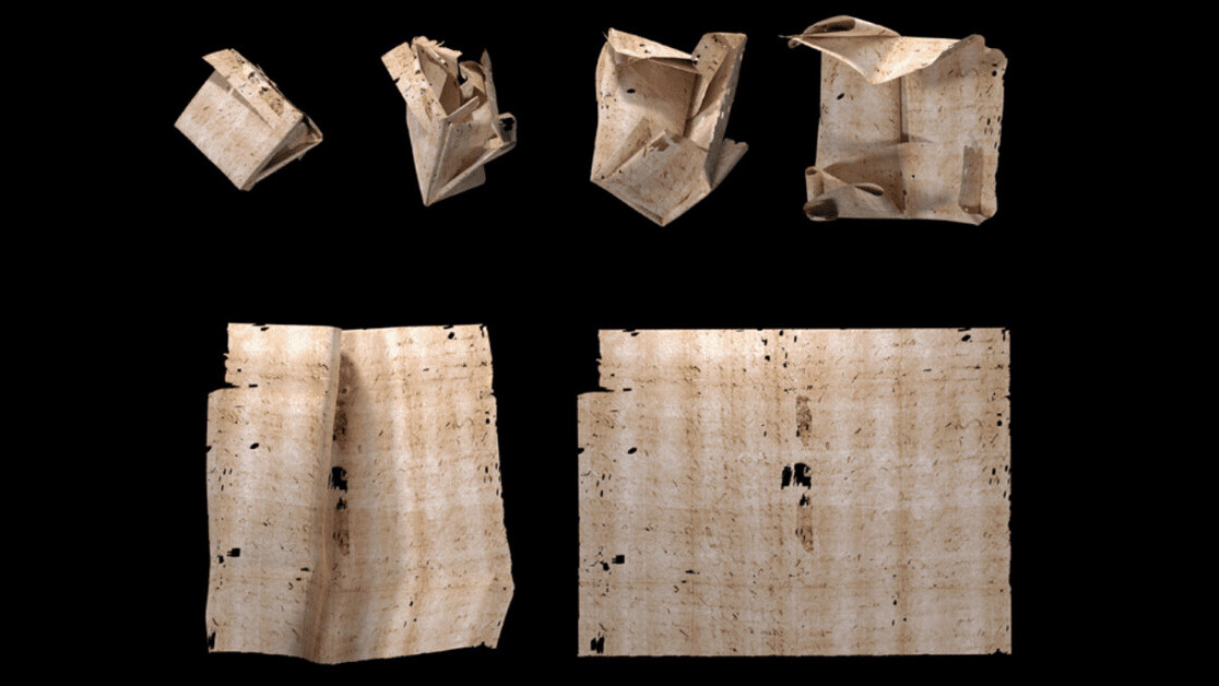 Nosy AI reads a 300-year-old sealed letter — without opening it