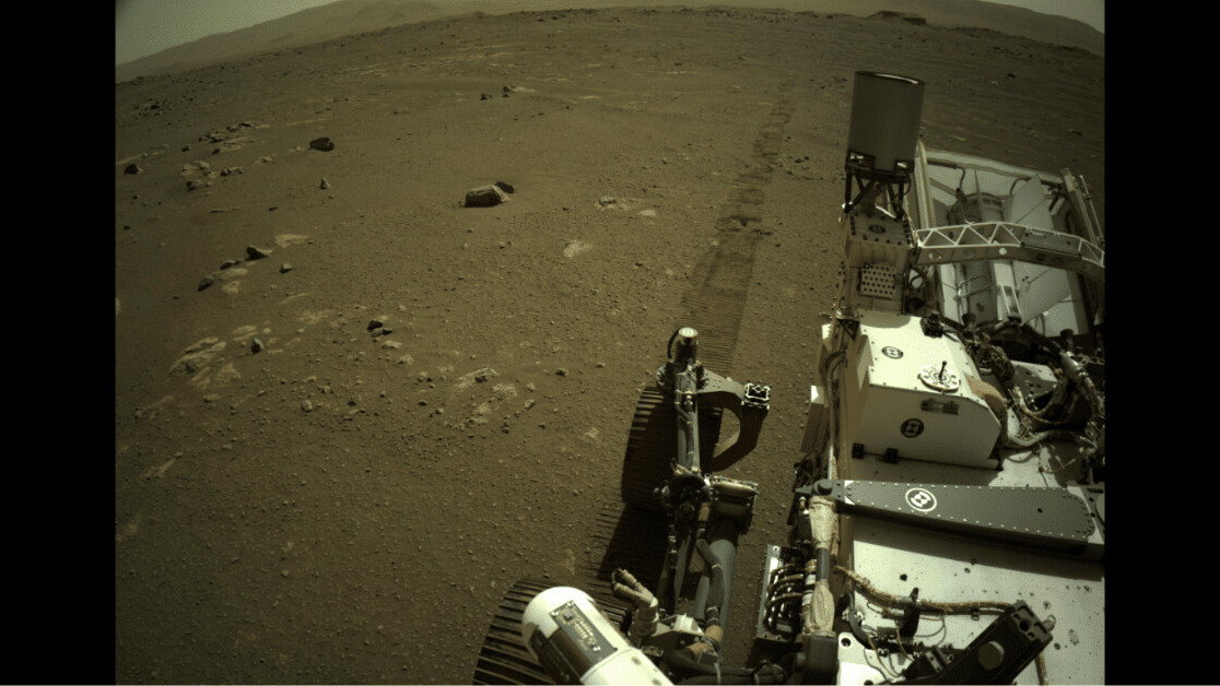 Mars rover captures mysterious 'scratching noise' during drive across the red planet