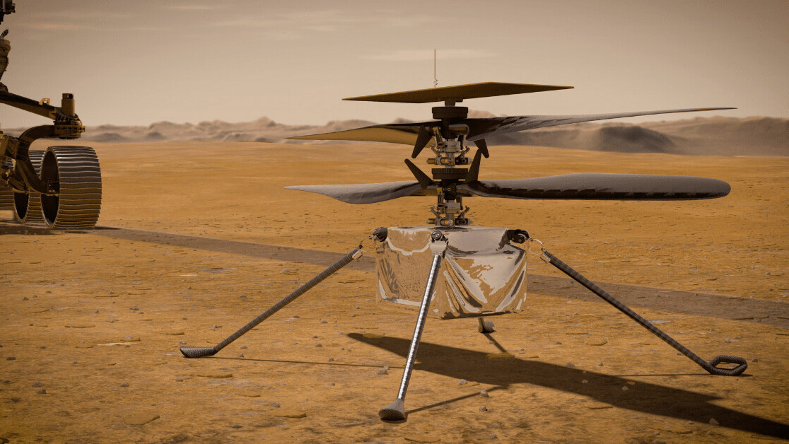 NASA unveils plans for first-ever flight on Mars