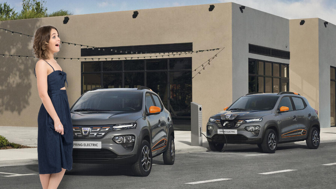 Dacia's new $25K Spring puts the 'EVs are too expensive' argument to bed