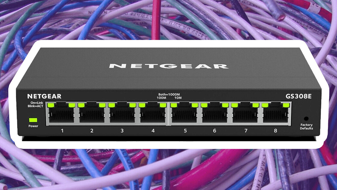 Run out of ethernet ports on your router? Here's the solution