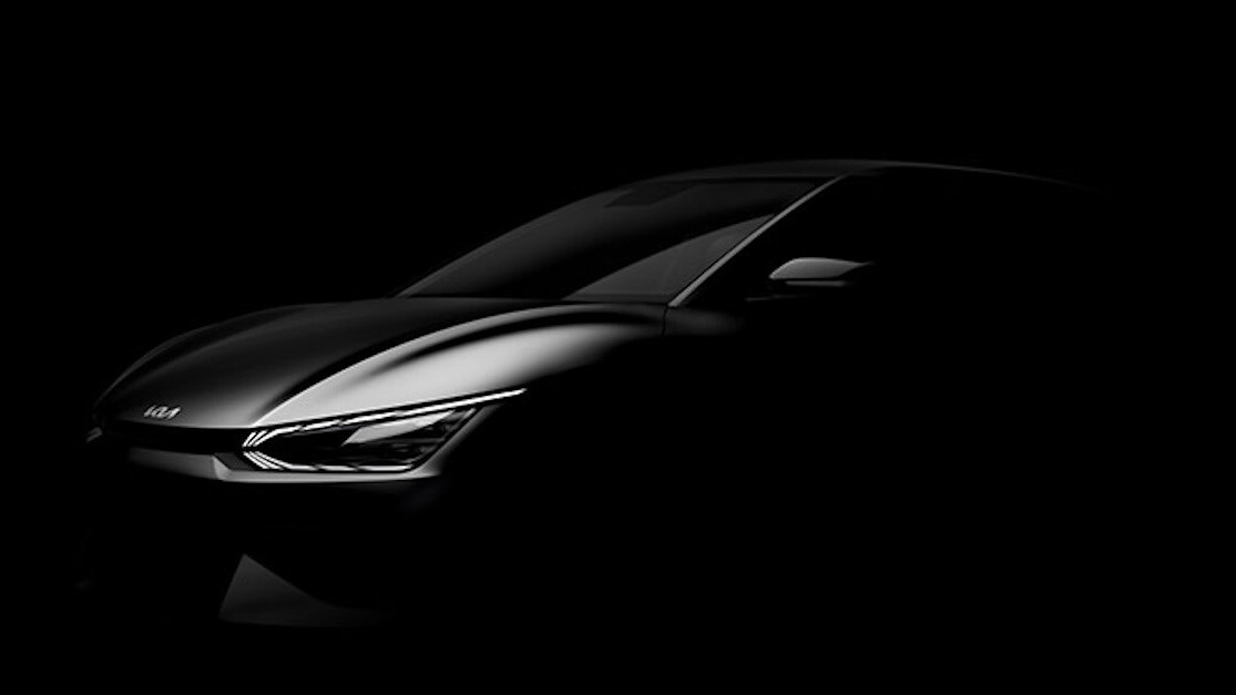 Kia unveils the EV6, the most okay-est looking EV of 2021