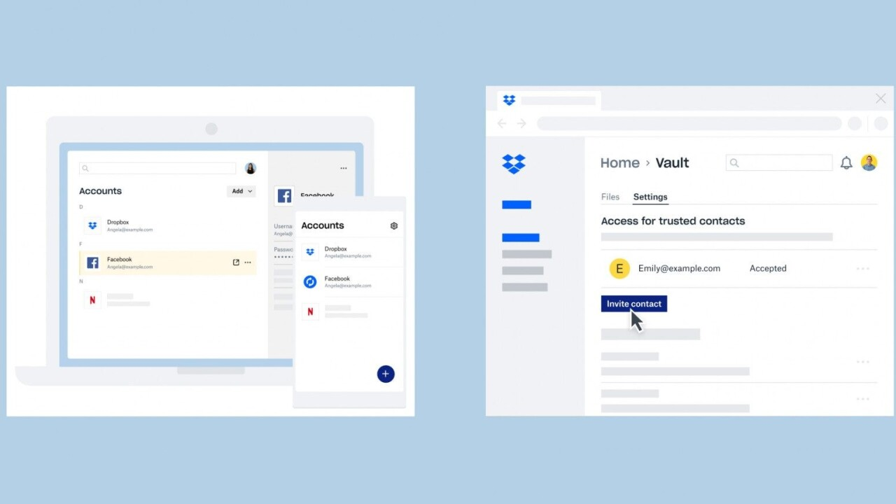 Dropbox declares its password manager will be free to use