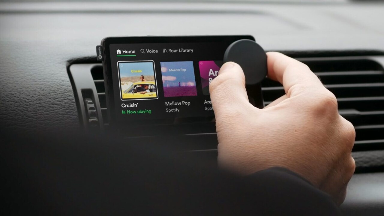 Spotify made a thing for your car called the Car Thing