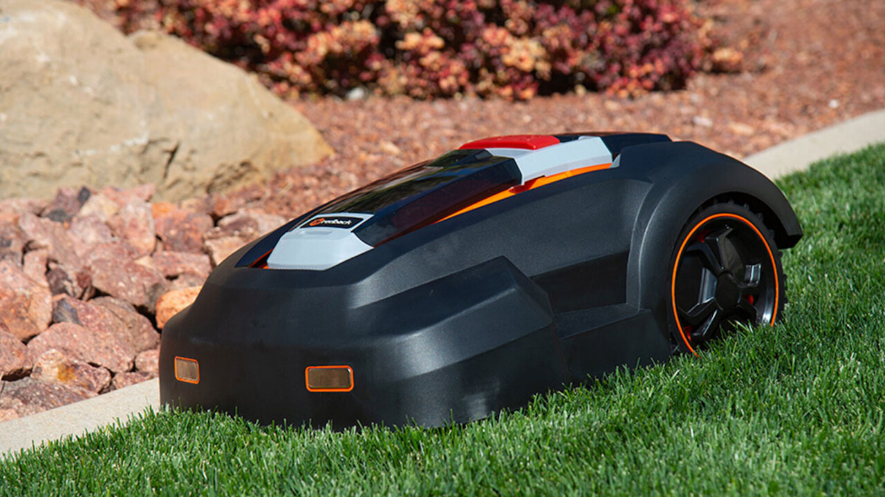 The MowRo is the electric lawn-mowing robot that liberates you from home landscaping duties