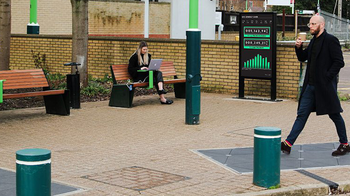 UK's new rail station tech turns your footsteps into electricity